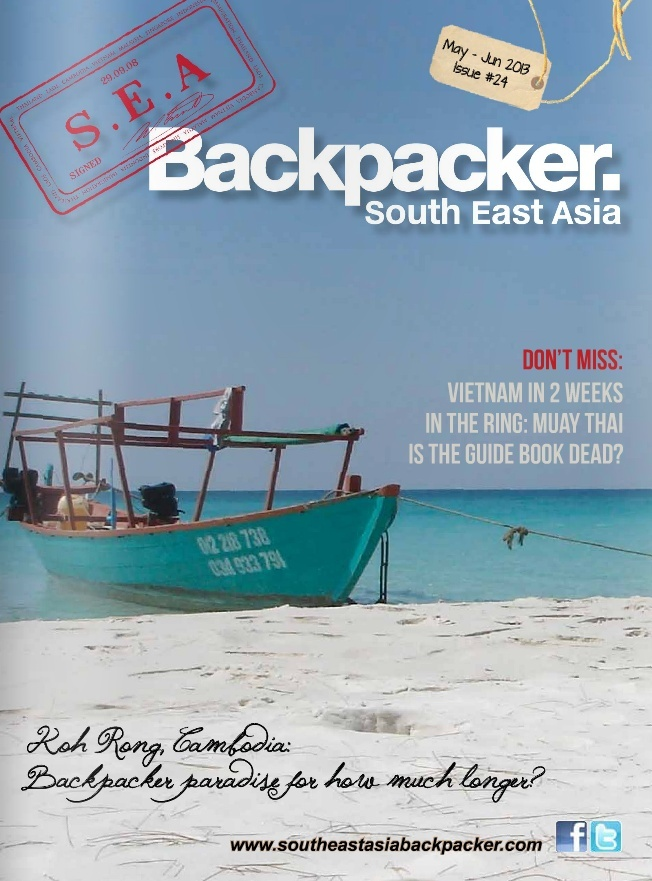 Revue South East Asia Backpackers, version numérique Screen10