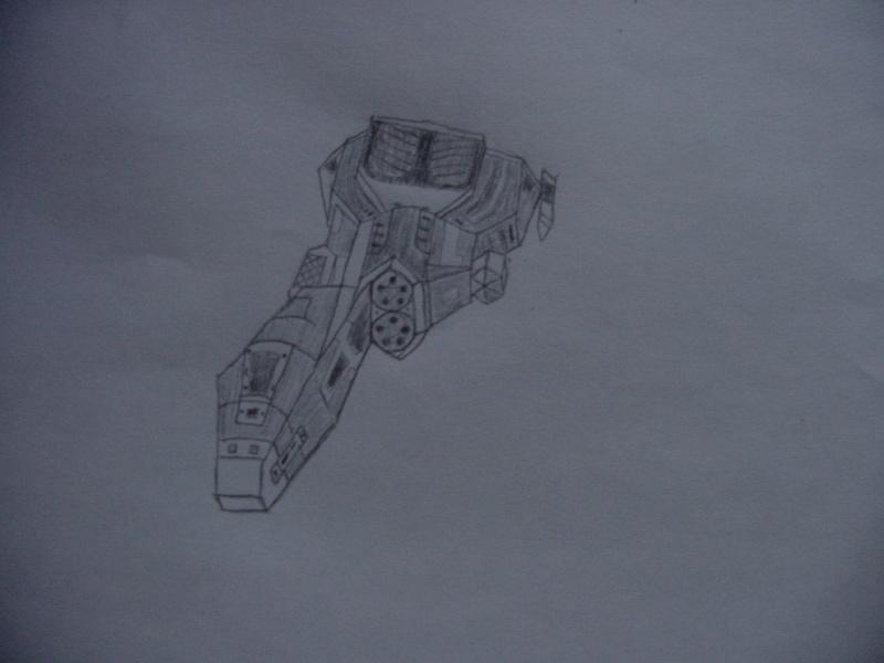 Homeworld ship series Dsc00010