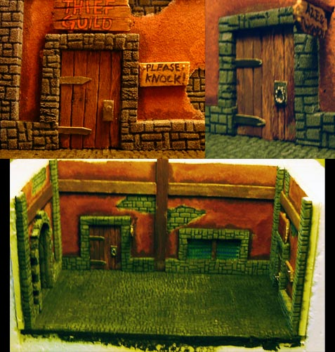 A Diorama in the making Alley10