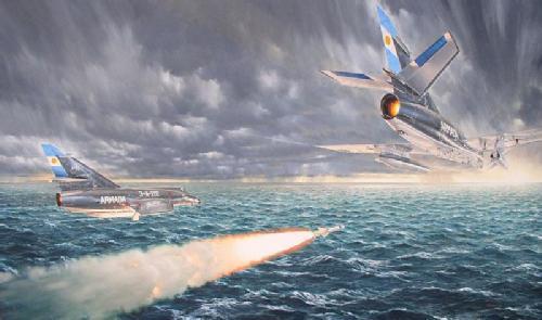 Super Étendard en la Armada Argentina _f10