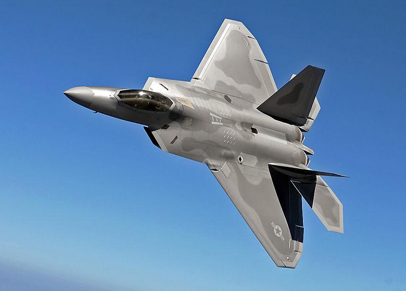 Lockheed Martin F-22 Raptor F-2210