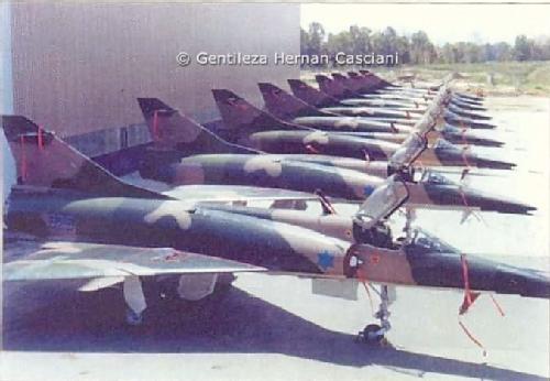 """El mirage V """" dagger """" utilizado en la fuerza aerea israeli es de fabricacion francesa? Nesher10"""