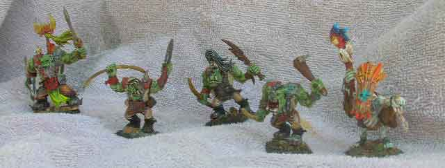 "the mordheim city ""BURN SMASHERS""  wip orcs Orc10"