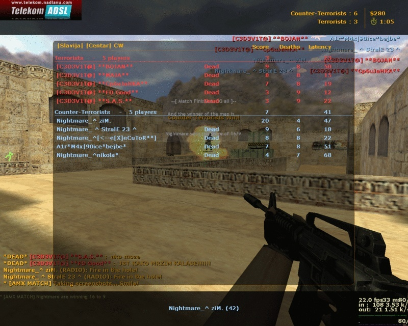 THe X Gaming ScreenShots De_dus11