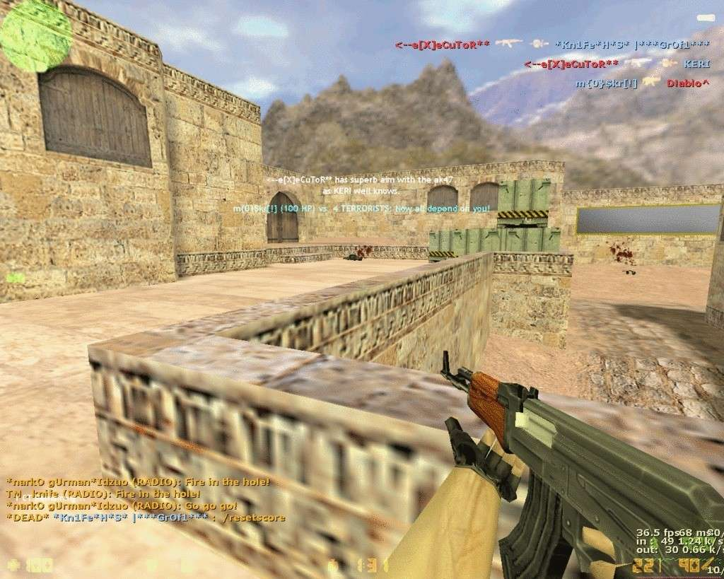 THe X Gaming ScreenShots De_dus13