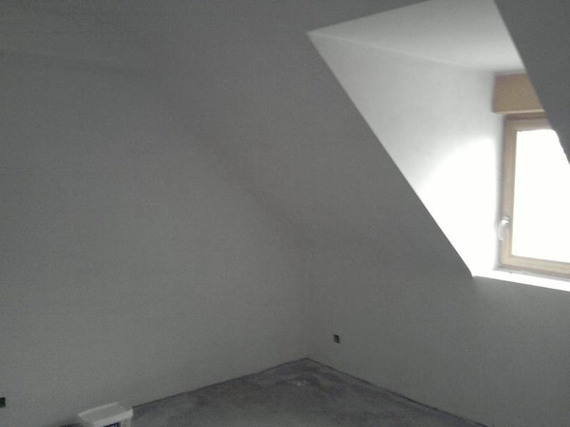 Peinture chambre mansardée