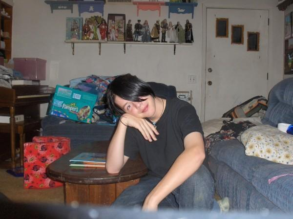 Post pics of yourself here~ - Page 2 Bored_11
