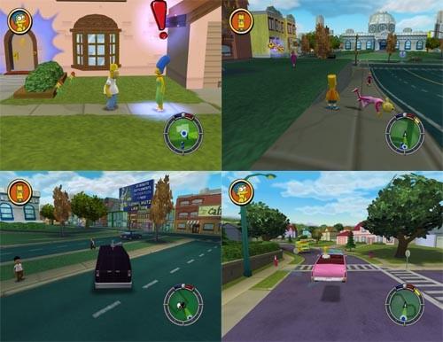 حصريا اللعبة الجميلة و الشيقة 11 The Simpsons - Hit & Run كاملة بحجم 179 ميجا Untitl12