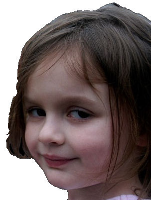 Photoshop Disaster girl. Gramma10
