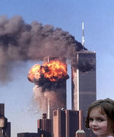 Photoshop Disaster girl. Gramma11