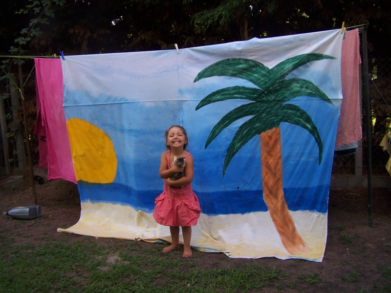 sous les palmiers .......... Alana_10