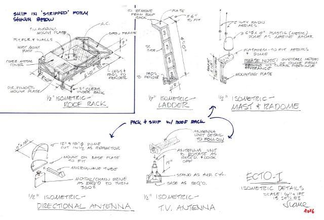 Ecto 1 , créé par Stephen Dane Seane110