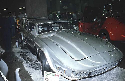 La Mustang 1967 modifié par Xavier Miron de Montréal Showti11