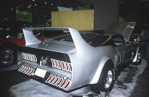 La Mustang 1967 modifié par Xavier Miron de Montréal Showti12