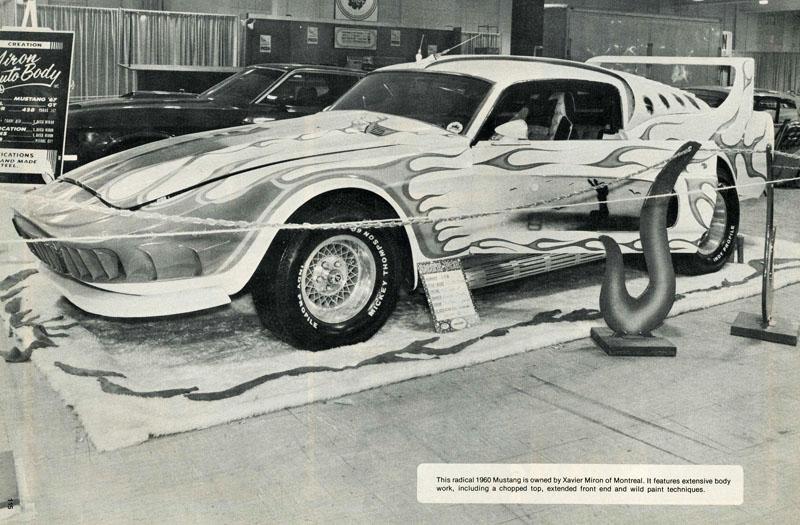 La Mustang 1967 modifié par Xavier Miron de Montréal Showti13