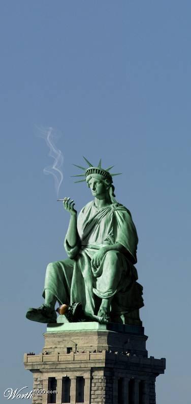 Lady Liberty Statue12