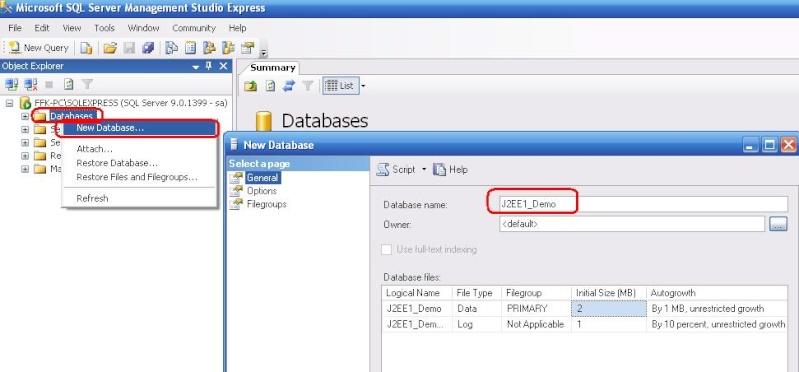 Cách kết nối Java với SQL server Data10