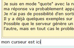 Nouvelle interface: problème des citations et solution (06/2013)... Citage11