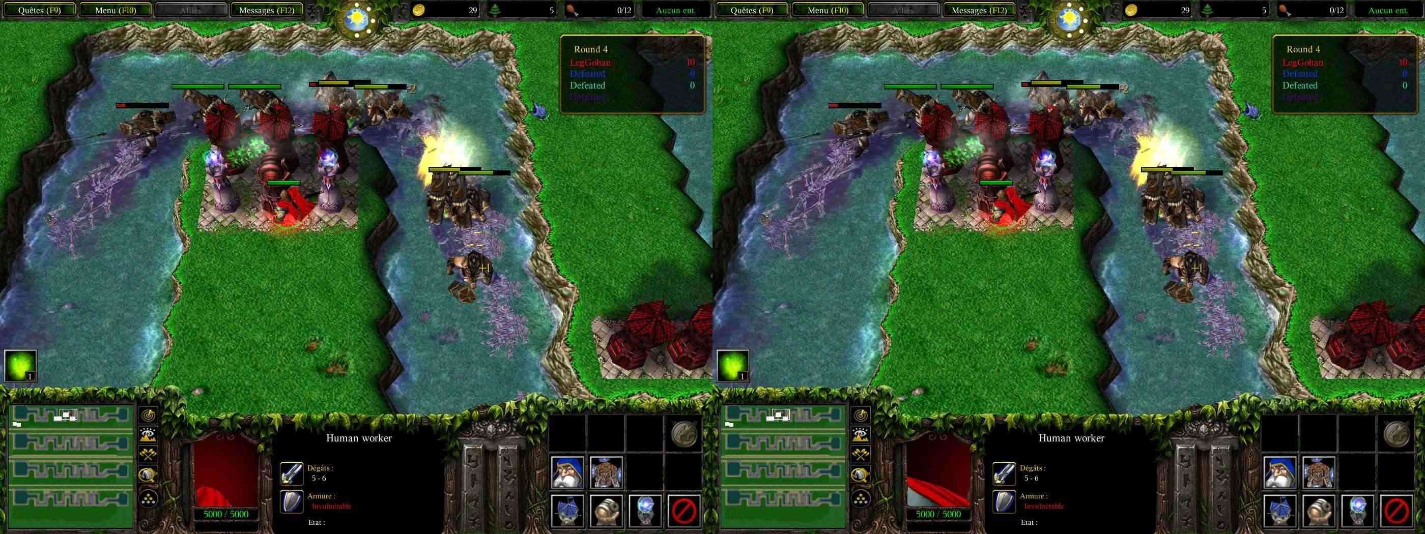 Warcraft 3 + addon War30510