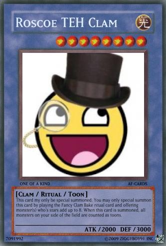 AF Yu-Gi-Oh Cards Roscoe11