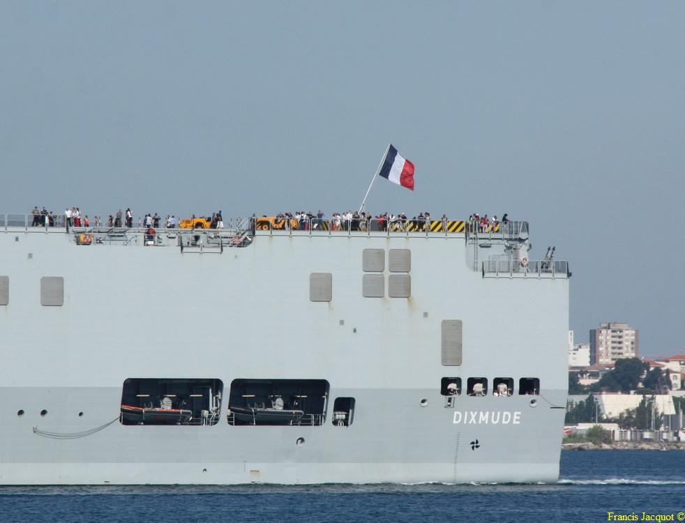 [LES PORTS MILITAIRES DE MÉTROPOLE] Mouvements de Bâtiments dans la rade de Toulon - Page 4 Img_3722