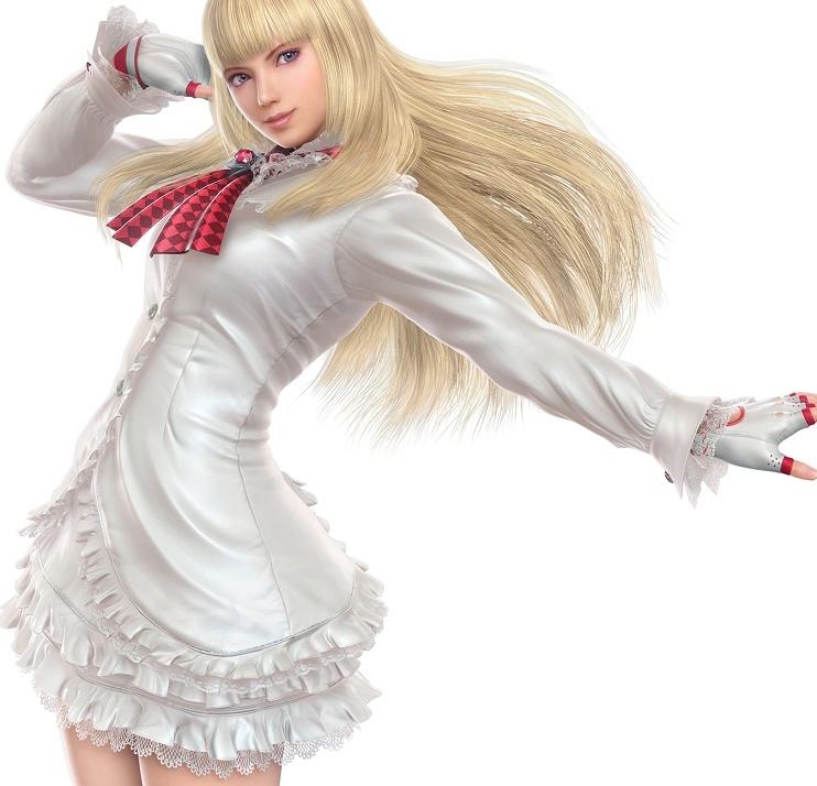 [Tekken 5][Lili][White Victorian default vers.] Ely-li10