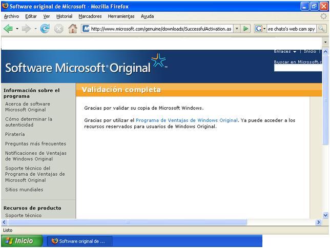 Truco para validar windows sin instalar nada.!! Vhw3di10