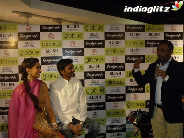 Sonam, Dhanush Celebrate 'Campus Blues' Dhau1818