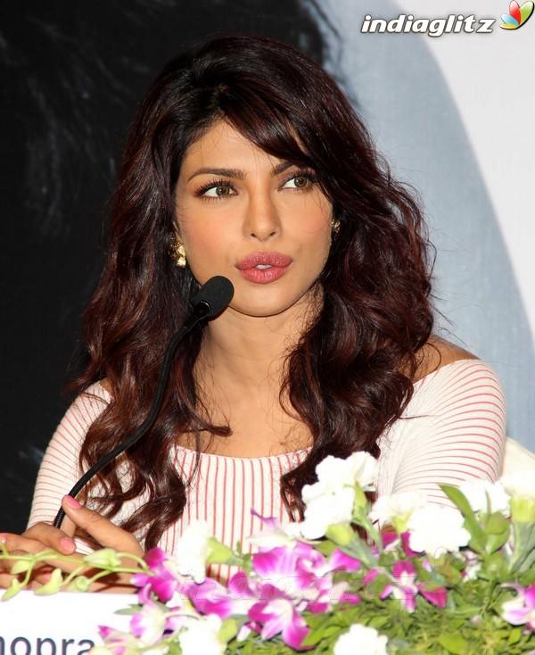 Priyanka Launches UNICEF's Mobile Application Priyan14