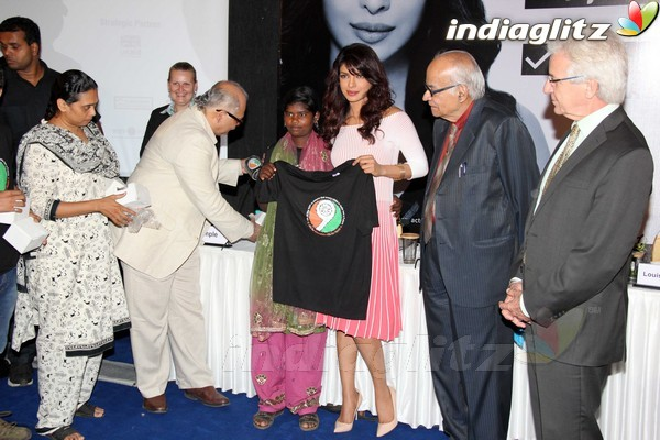 Priyanka Launches UNICEF's Mobile Application Priyan16