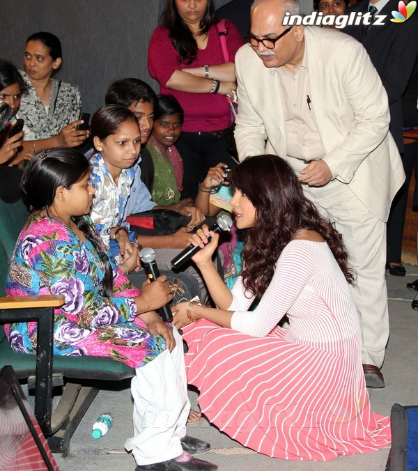 Priyanka Launches UNICEF's Mobile Application Priyan20