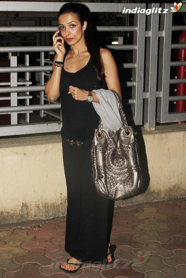 Malaika Arora khan, Arbaz Khan Snapped At Pvr Pvr20110