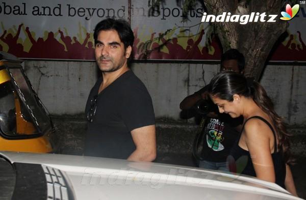 Malaika Arora khan, Arbaz Khan Snapped At Pvr Pvr20115