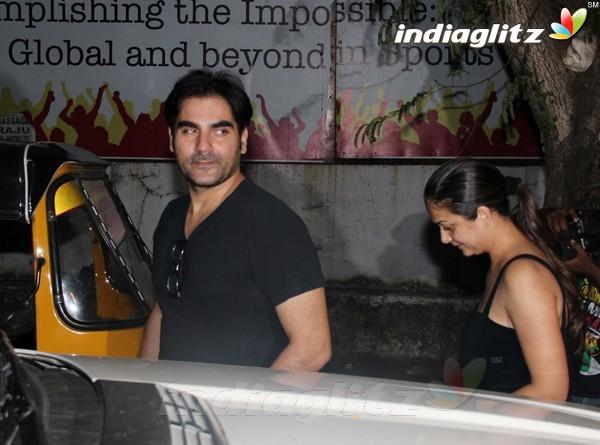Malaika Arora khan, Arbaz Khan Snapped At Pvr Pvr20116