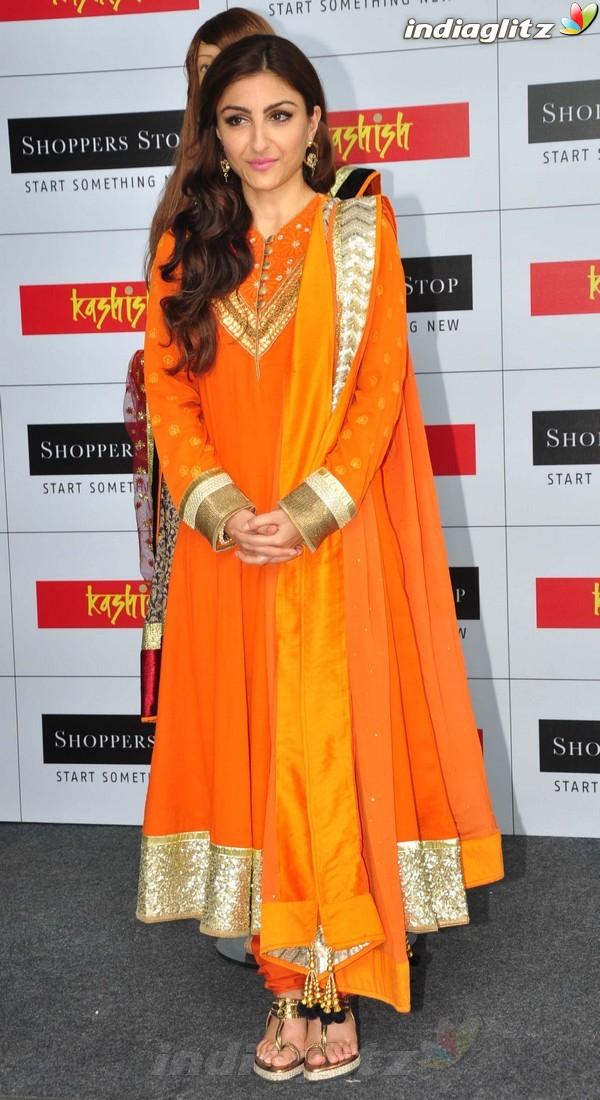 Soha Ali Khan At Shoppers Stop's Festival Soli1810