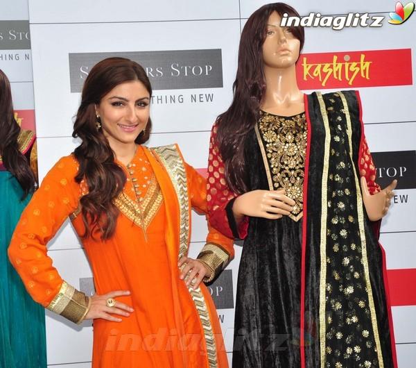 Soha Ali Khan At Shoppers Stop's Festival Soli1812