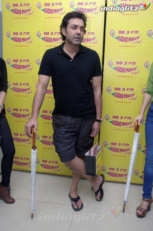 'Yamla Pagla Deewana 2' Promotion At Radio Mirchi Yama1711