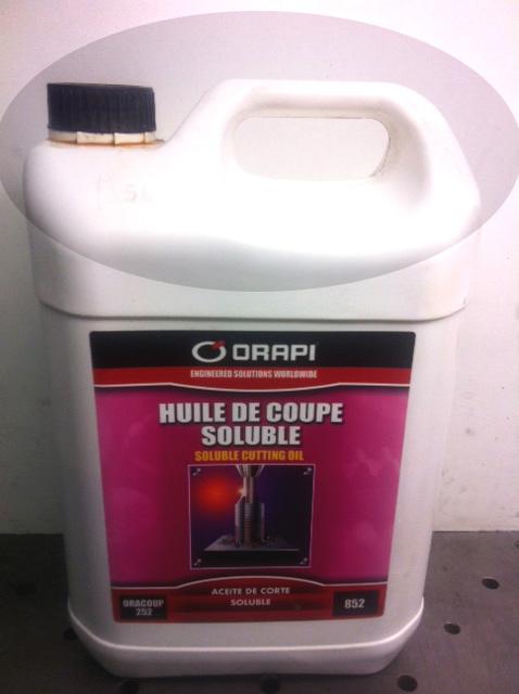 microlubrification quelle huile utilisée Orapi110