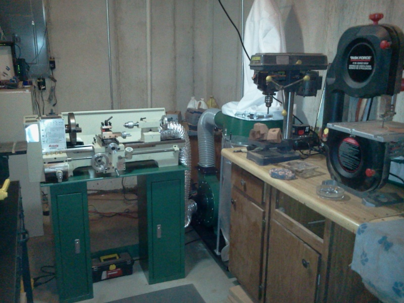 My new work shop A111