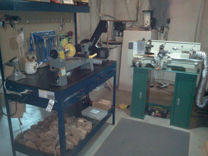 My new work shop A210