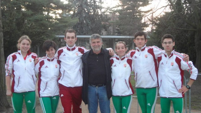 28 Avril - Championnat de Hongrie . Honved10