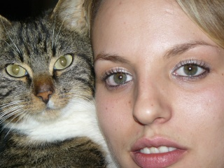 belle soeur et son chat P1040010