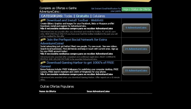 COMO GANHAR ACS GRATIS NO AEXTRAS 410