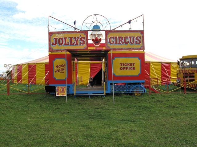 Peter Jolly's Circus at Rushall, Walsall Peterj16
