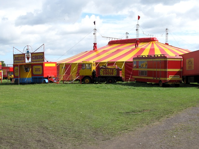 Peter Jolly's Circus at Rushall, Walsall Peterj17