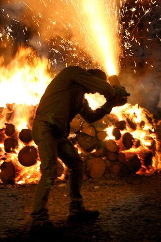 FETE DU FEU de Sanremo frontiere Italienne du 06 LE 13/02/10 32815210