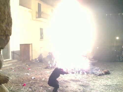 FETE DU FEU de Sanremo frontiere Italienne du 06 LE 13/02/10 38599310