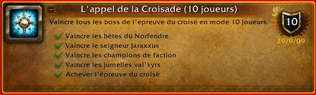 Guilde World of Warcraft La main des Braves - Bienvenue Colysa11
