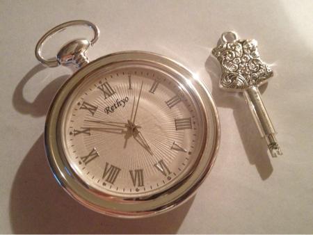 help comment changer l'heure de cette montre a gousset Rethyo10