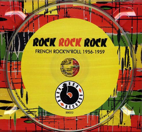 Rock, Rock, Rock French Rock'n'Roll 1956-1959 Cdfran10